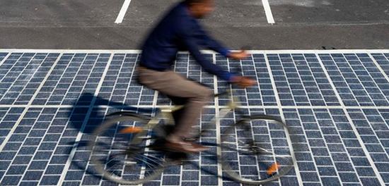 Wattways : des routes photovoltaïques