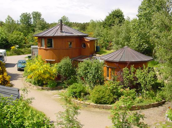 Un éco-village en Ecosse