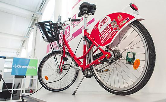 vélo intelligent pour l'écologie