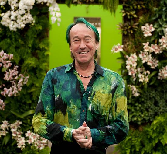 Patrick Blanc, ce botaniste street-artiste et inventeur du mur végétalisé