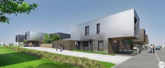 Un éco quartier qui va être construit à partir de container recycler