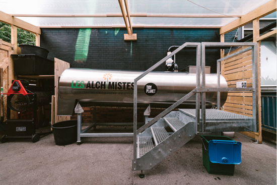 Fabriquer des bio-déchets à Paris